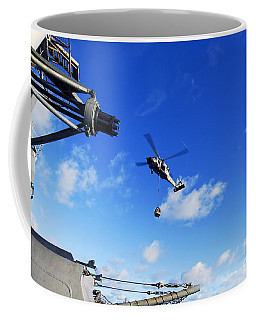 An Mh-60s Sea Hawk Helicopter Coffee Mug