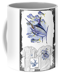 Blue Marlin Coffee Mug