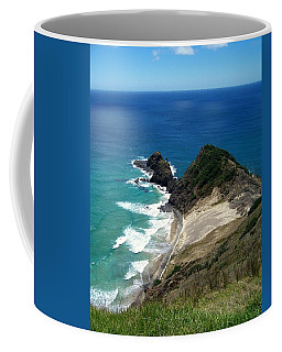 Cape Reinga - North Island Coffee Mug by Peter Mooyman