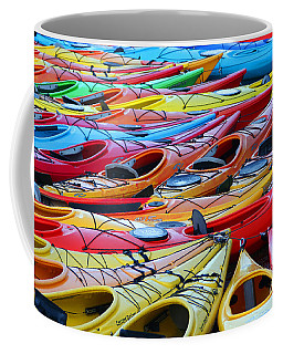 Coffee Mug featuring the photograph Color My World by Adrian LaRoque