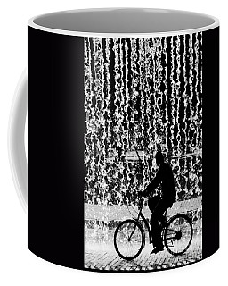 Cycling Silhouette Coffee Mug