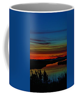 Deep Marshland Sunset Coffee Mug
