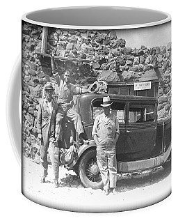 Coffee Mug featuring the photograph Depression Travlers by Bonfire Photography