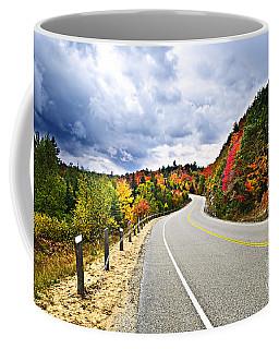 Fall Highway Coffee Mug