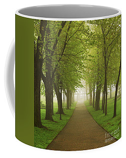 Foggy Park Coffee Mug