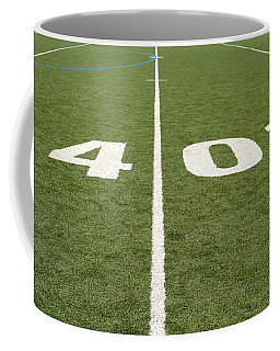 Football Field Forty Coffee Mug