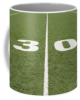 Coffee Mug featuring the photograph Football Field Thirty by Henrik Lehnerer