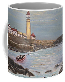 Portland Maine I - Mary Krupa Coffee Mug