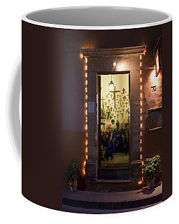 Las Cruces Coffee Mug by Lynn Palmer
