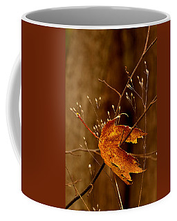 Lonely Leaf Coffee Mug