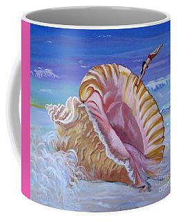 Magic Conch Shell Coffee Mug