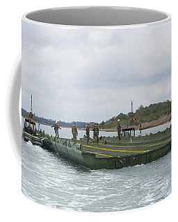 Marines And Sailors Tow An Improved Coffee Mug