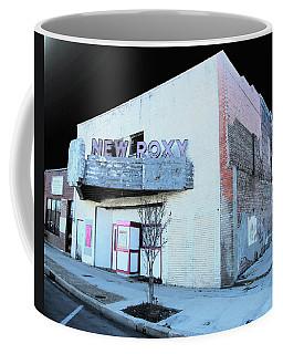 Coffee Mug featuring the photograph New Roxy Clarksdale Ms by Lizi Beard-Ward