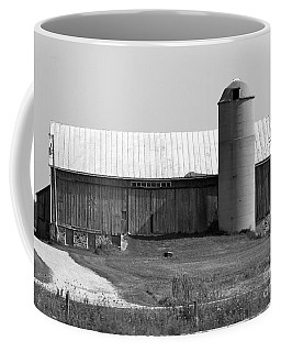 Old Barn And Silo Coffee Mug by Pamela Walrath