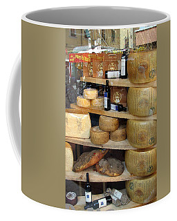 Parmesan Rounds Coffee Mug by Carla Parris
