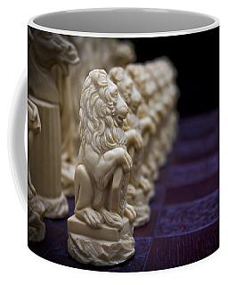 Pawns In A Row Coffee Mug by Doug Long