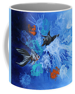 Richies Fish Coffee Mug by Wendy Shoults