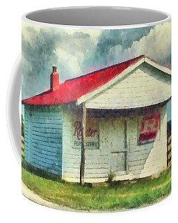 Coffee Mug featuring the painting Royster Fertilizers  by Lynne Jenkins