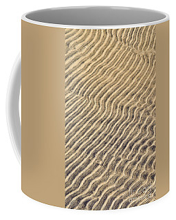 Sand Ripples In Shallow Water Coffee Mug