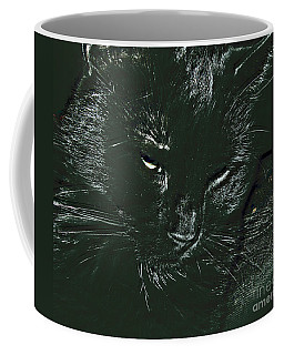 Coffee Mug featuring the photograph Satin by Donna Brown