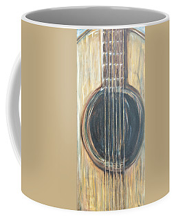 Strings Acoustic Sound Coffee Mug