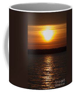 Coffee Mug featuring the photograph Sunrise On Seneca Lake by William Norton