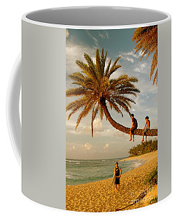 Sunset Beach Oahu Coffee Mug