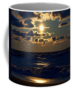 Sunset Over The City Coffee Mug