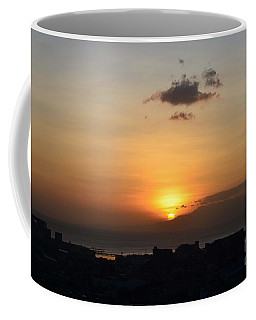 Sunset Upon The Ocean  Coffee Mug