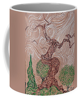 The Earthen Tree Coffee Mug