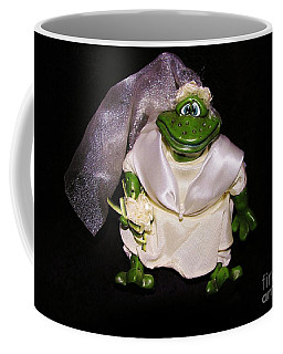 Coffee Mug featuring the photograph The Green Bride by Sherman Perry