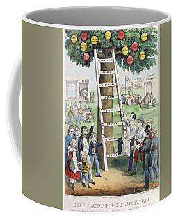 The Ladder Of Fortune Coffee Mug