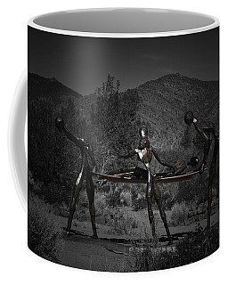 Coffee Mug featuring the photograph The Nurses by Betty Depee