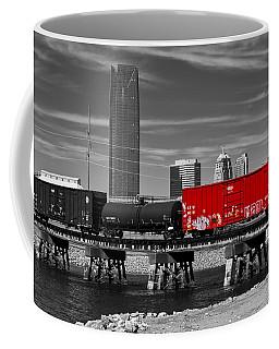 The Red Box Car Coffee Mug by Doug Long