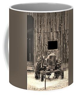Tractor And The Barn Coffee Mug