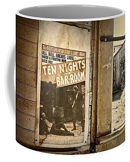 10 Nights In A Bar Room Coffee Mug