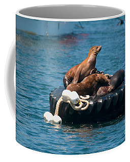 Monterey Harbour Coffee Mug