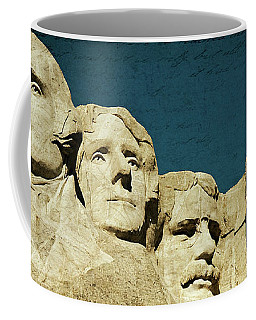 150 Years Of American History Coffee Mug