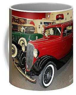 1930's Antique Chevrolet Sedan Coffee Mug