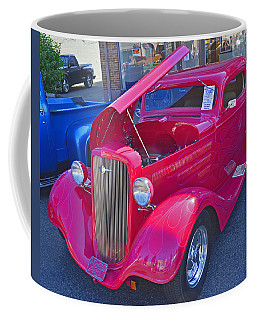 Coffee Mug featuring the photograph 1934 Chevy Coupe by Tikvah's Hope