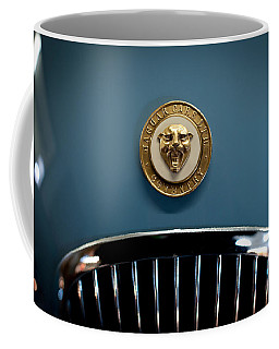 1952 Jaguar Hood Ornament Coffee Mug
