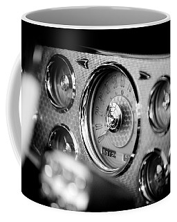 Coffee Mug featuring the photograph 1956 Packard Caribbean Dashboard by Sebastian Musial