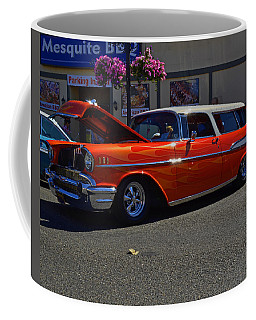 Coffee Mug featuring the photograph 1957 Belair Wagon by Tikvah's Hope