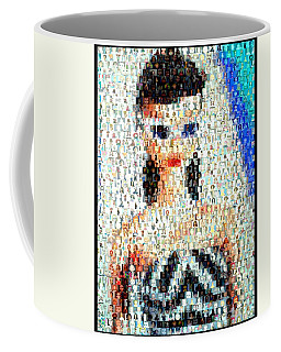 1959 Barbie Doll Mosaic Coffee Mug by Paul Van Scott