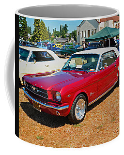 Coffee Mug featuring the photograph 1964 Ford Mustang by Tikvah's Hope