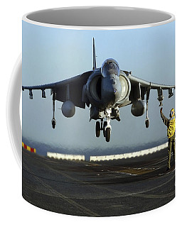 Aviation Boatswains Mate Directs An Coffee Mug