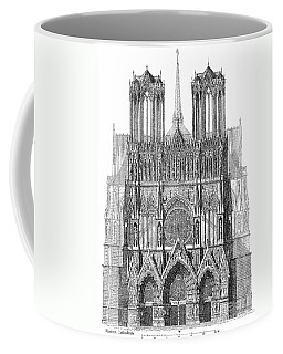 France: Reims Cathedral Coffee Mug