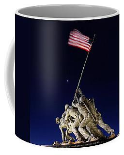 Iwo Jima Memorial At Dusk Coffee Mug