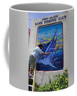 Mural In St Thomas Coffee Mug