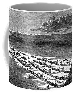 Wagon Train, C1844 Coffee Mug